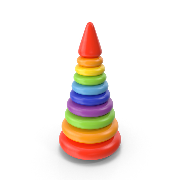 Ring Stacker: Stacking Toy PNG & PSD Images