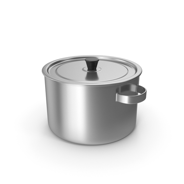 Stainless Pot PNG & PSD Images