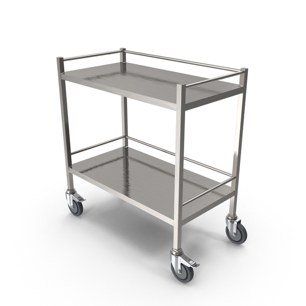 Stainless Steel Cart PNG & PSD Images