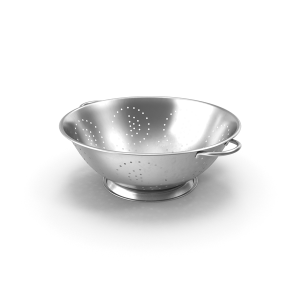 Stainless Steel Colander PNG & PSD Images