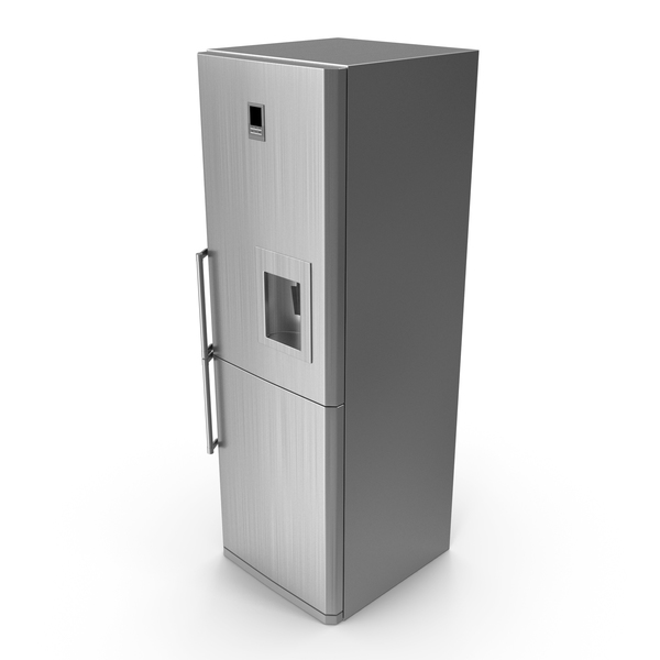 Refrigerator: Stainless Steel Fridge PNG & PSD Images