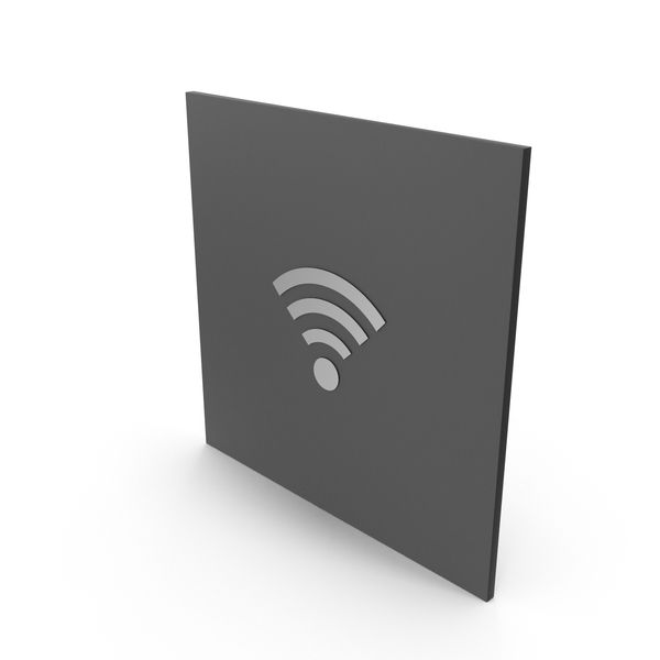 Stainless Steel Sign WiFi PNG & PSD Images
