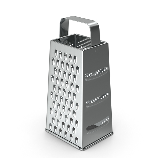 Stainless Steel Silver Kitchen Grater PNG & PSD Images