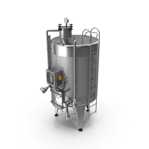 Stainless Steel Wine Fermentation Tank PNG & PSD Images