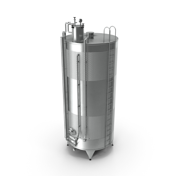 Stainless Steel Wine Tank PNG & PSD Images