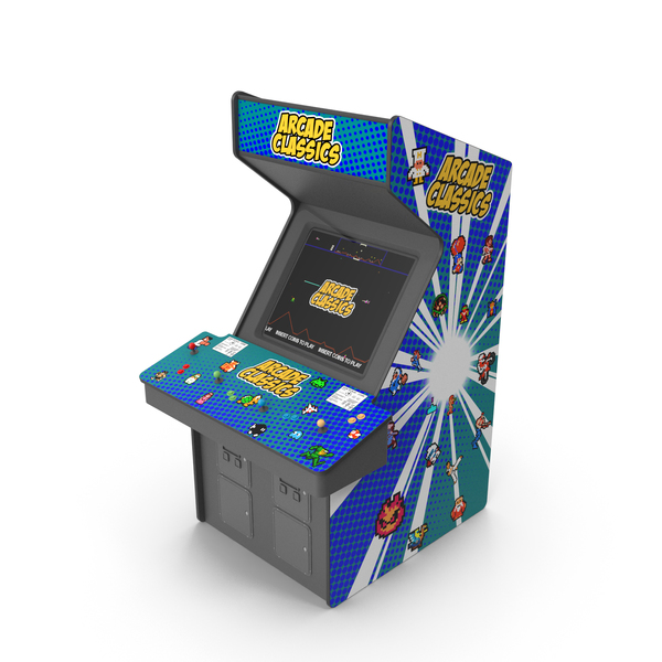 Games: Stand Up Arcade 4 Player PNG & PSD Images