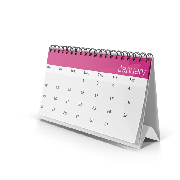 Standing Calendar PNG & PSD Images