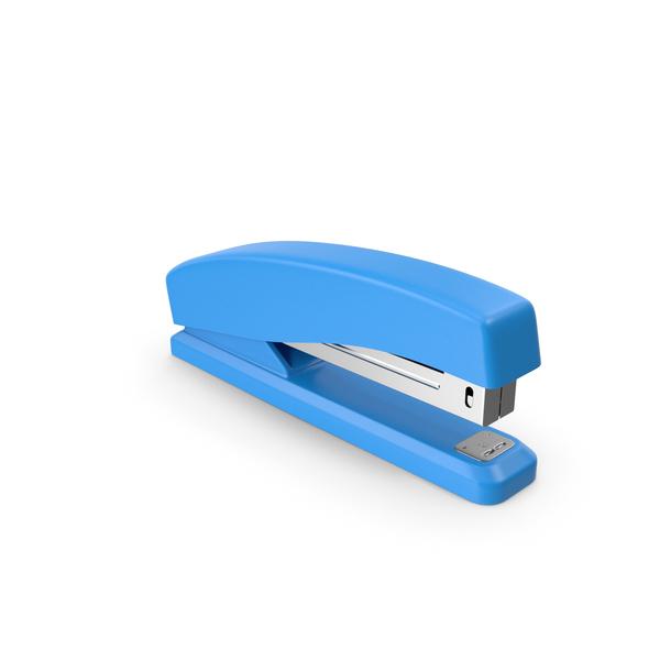Stapler Blue PNG & PSD Images