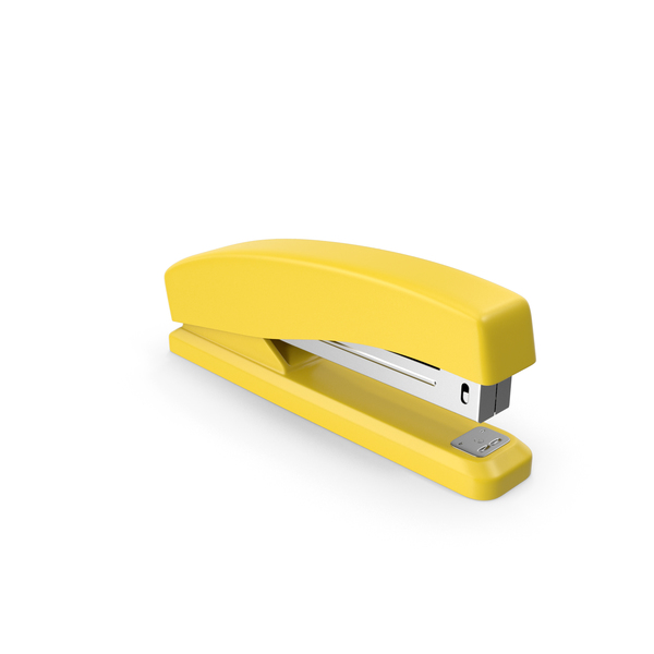 Stapler Yellow PNG & PSD Images