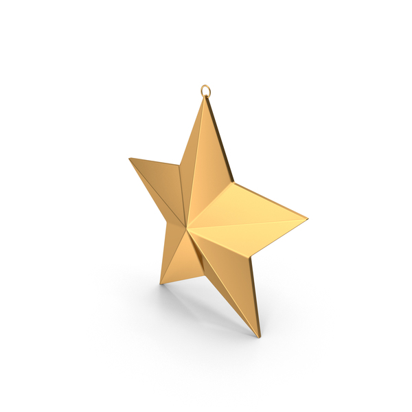 Star Christmas Ornament PNG & PSD Images