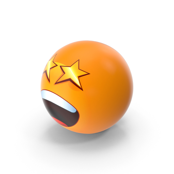 Star Eyes Emoji PNG & PSD Images