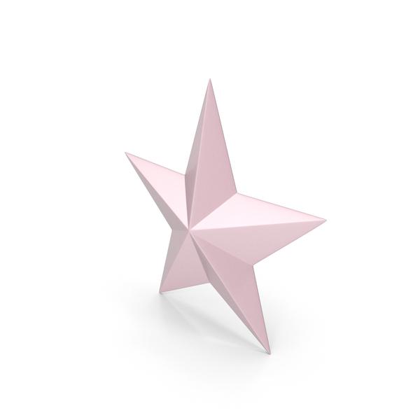 Symbol: Star Light Pink PNG & PSD Images