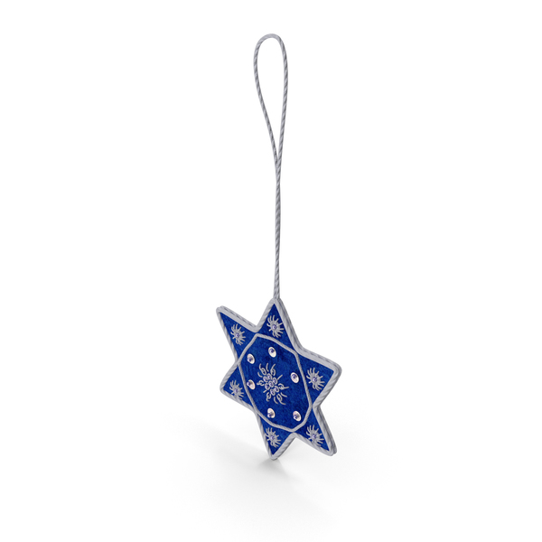 Star of David Ornament Object