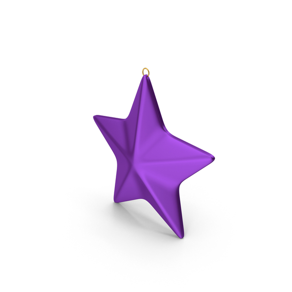 Star Ornament Purple PNG & PSD Images