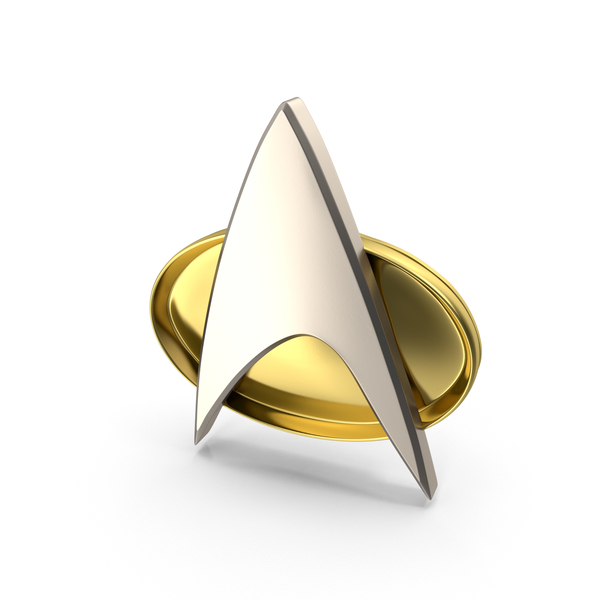 Star Trek Communicator Badge Object