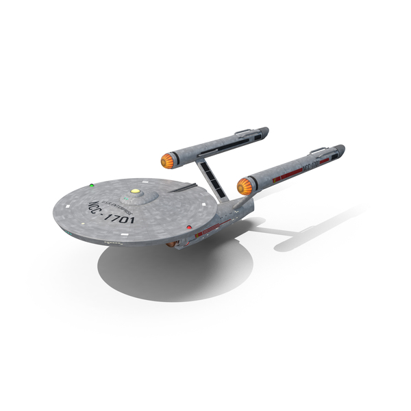 Spacecraft: Star Trek USS Enterprise PNG & PSD Images