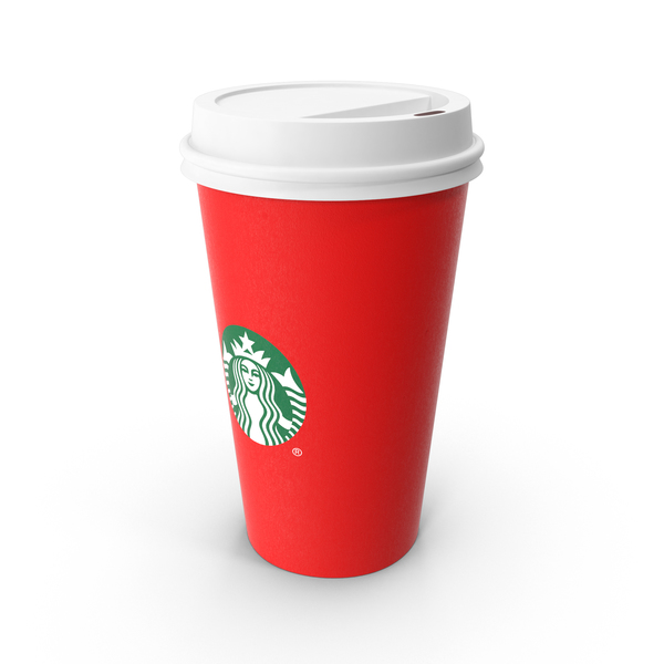 Starbucks Red Christmas Cup Object