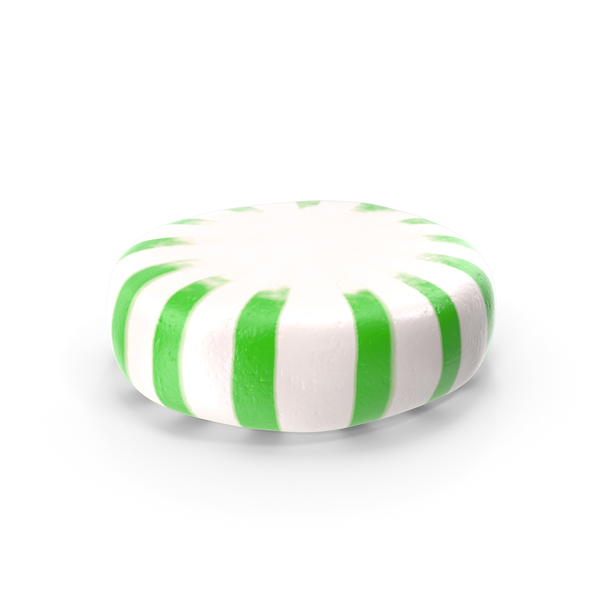 StarLight Peppermint Candy Green PNG & PSD Images