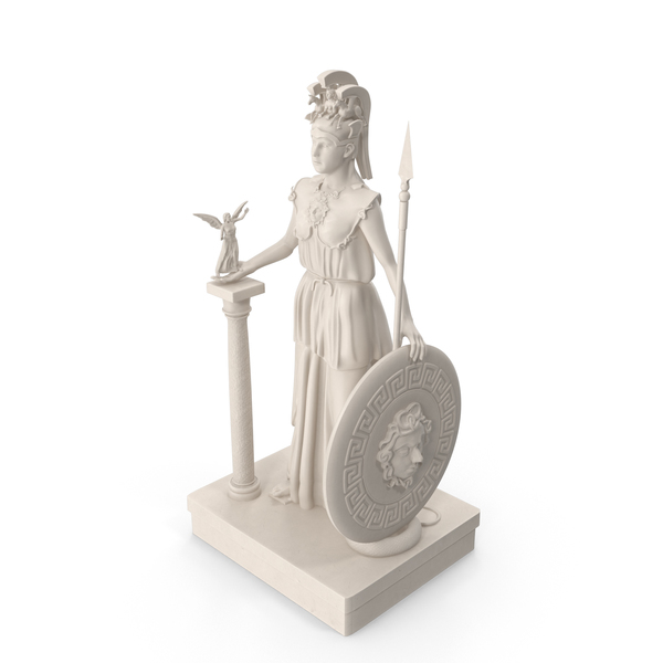 Statue of Athena PNG & PSD Images