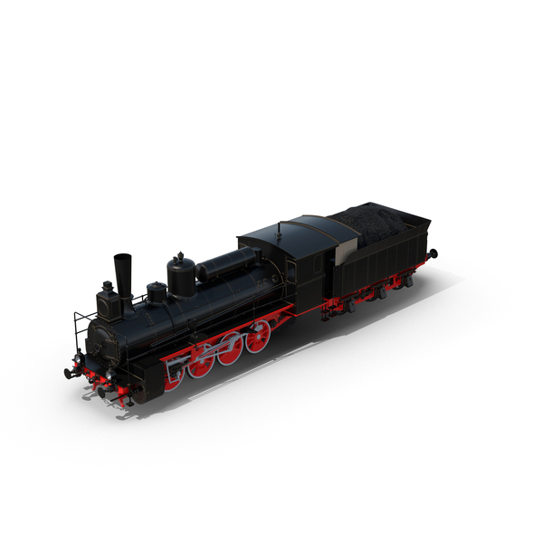 Steam Locomotive Object