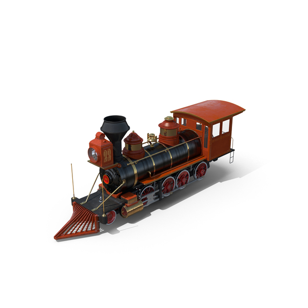 Trains: Steam Train PNG & PSD Images