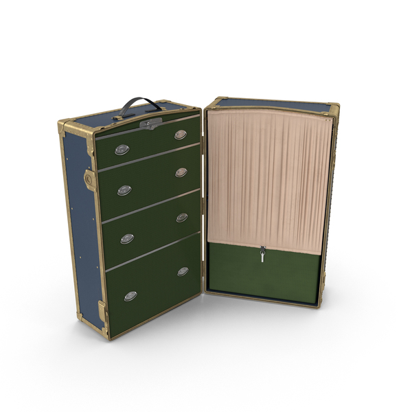 Steamer Wardrobe Trunk PNG & PSD Images