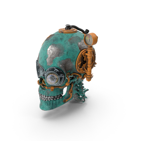 Steampunk Skull PNG & PSD Images