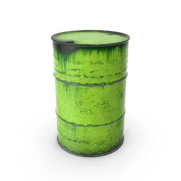 Steel Barrel Green PNG & PSD Images