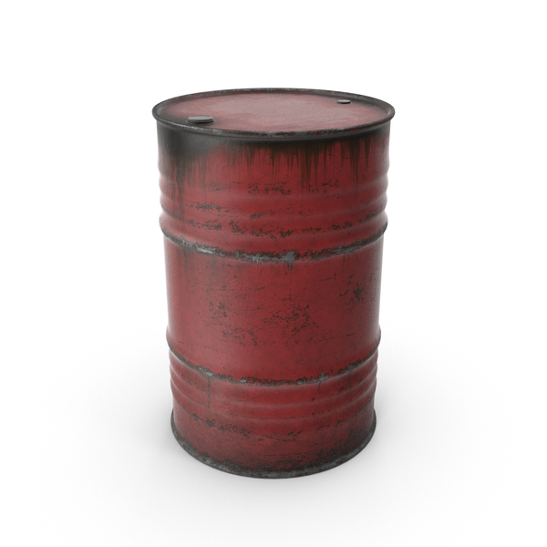 Steel Barrel Red PNG & PSD Images