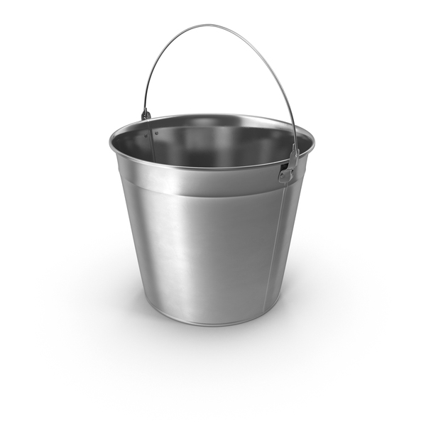 Steel Garden Bucket PNG & PSD Images