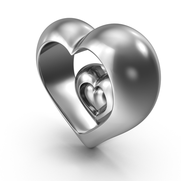 Steel Hearts PNG & PSD Images