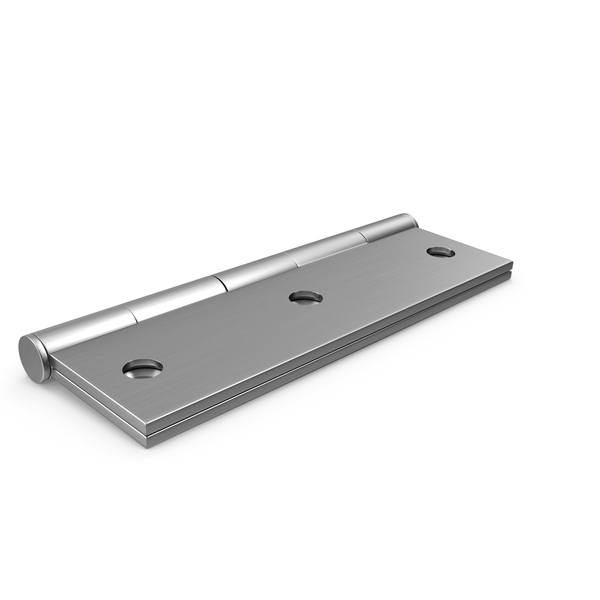 Steel Hinge Closed on Ground PNG & PSD Images