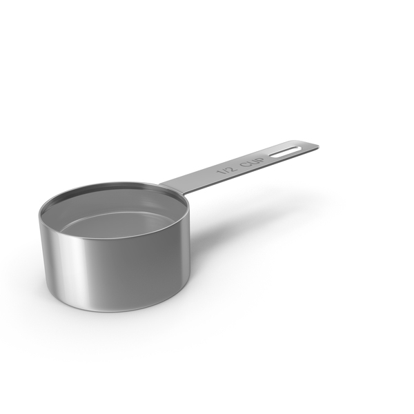 Steel Measuring Cup Object