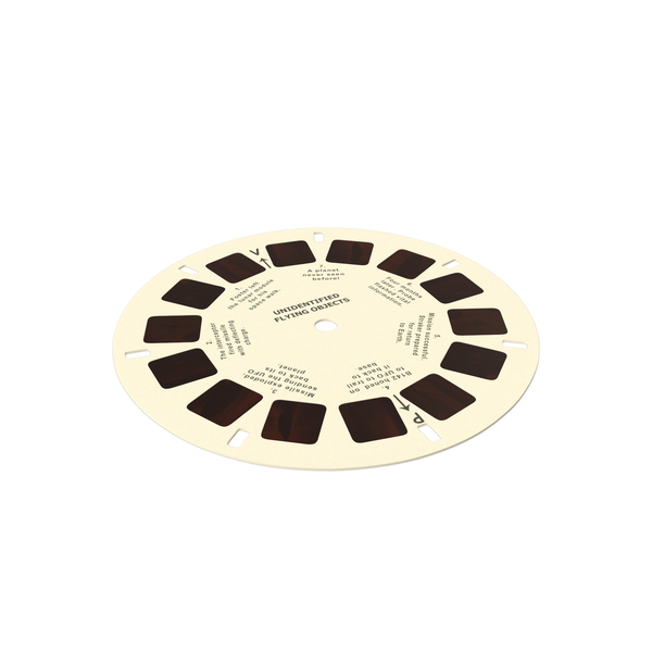 View Master: Stereoscope Cardboard Disc PNG & PSD Images