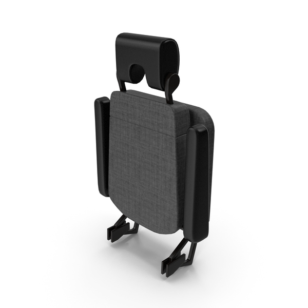 Airplane Chair: Stewardess Folded Seat PNG & PSD Images