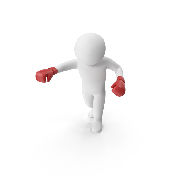 Stickman Boxing PNG & PSD Images