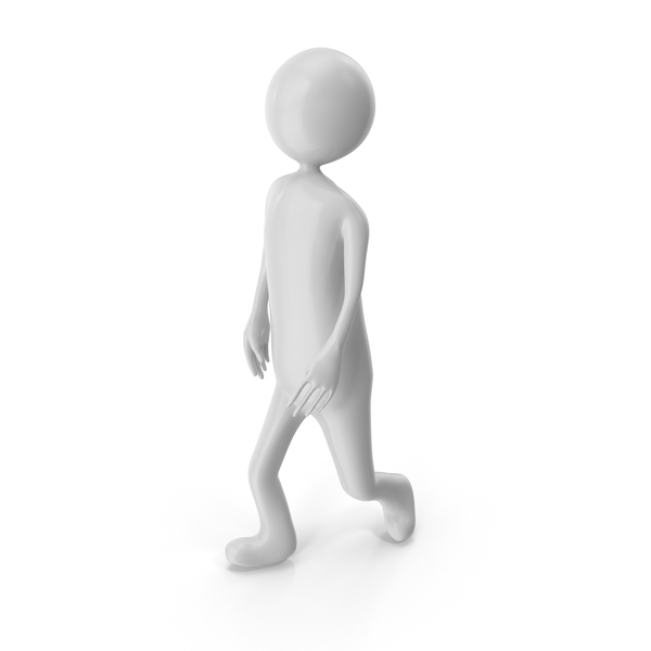 Stickman Walking PNG & PSD Images
