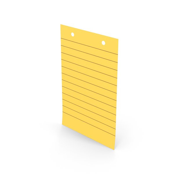 Sticky Note With Holes PNG & PSD Images
