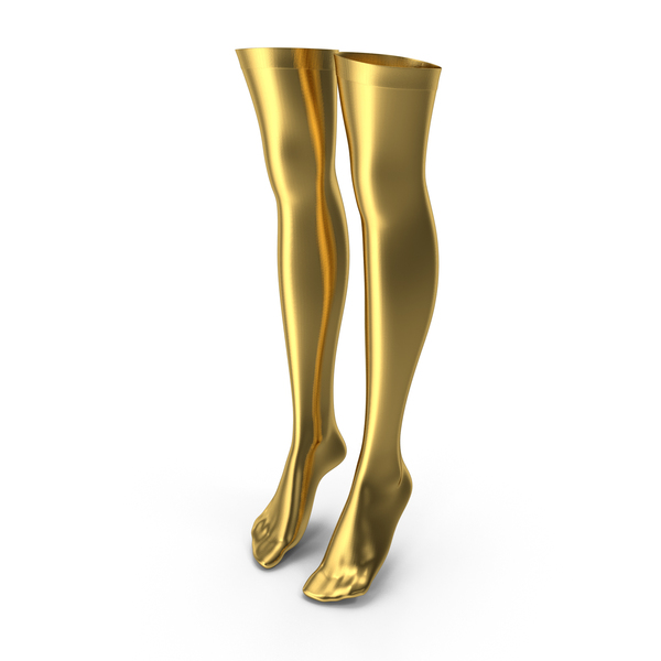 Stockings Gold PNG & PSD Images