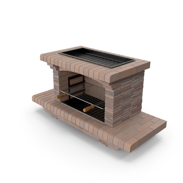 Masonry Grill: Stone Barbecue PNG & PSD Images