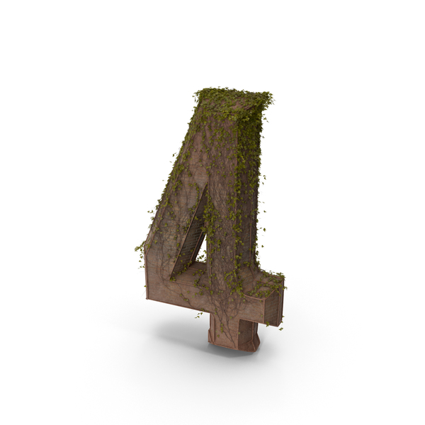 Stone with Ivy Number 4 PNG & PSD Images