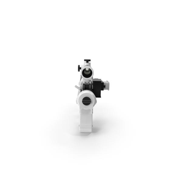 Sci Fi Rifle: Stormtrooper Blaster PNG & PSD Images