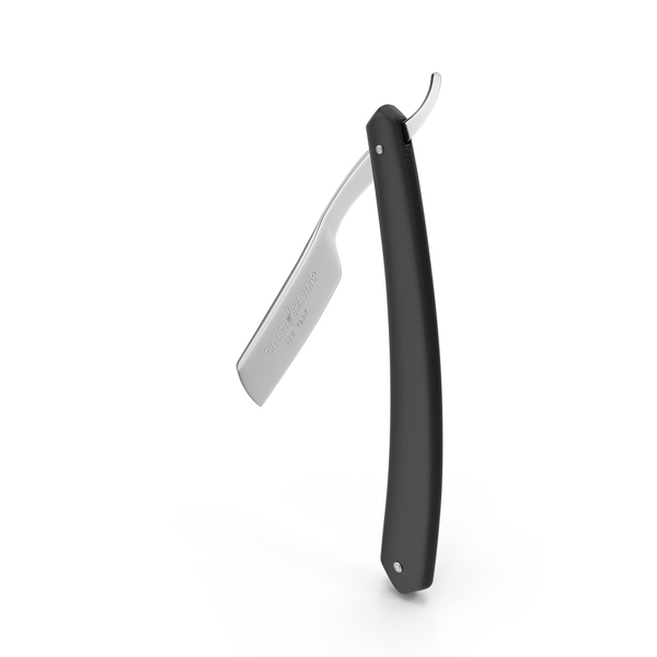 Straight Razor Black PNG & PSD Images