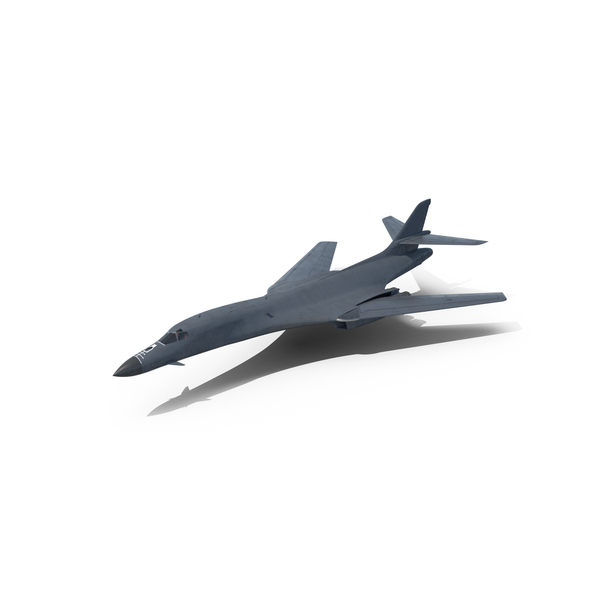 Strategic Bomber Rockwell B-1 Lancer Object
