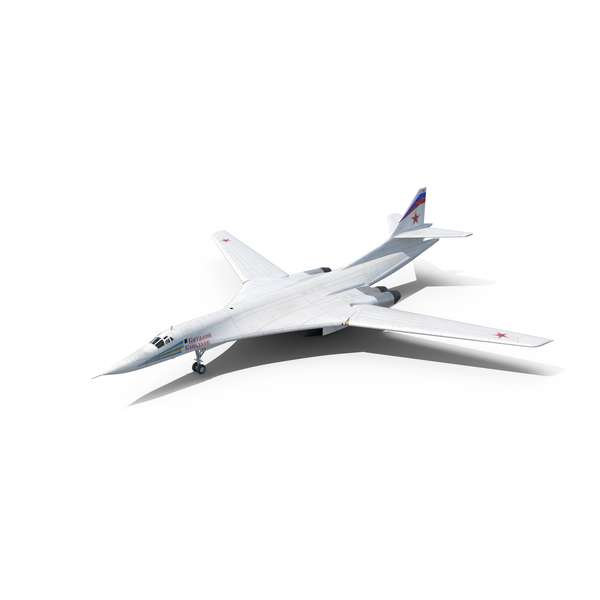Strategic Bomber Tupolev Tu-160 Blackjack PNG & PSD Images