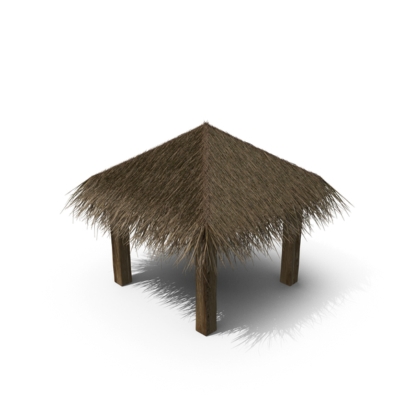 Straw Beach Umbrella PNG & PSD Images