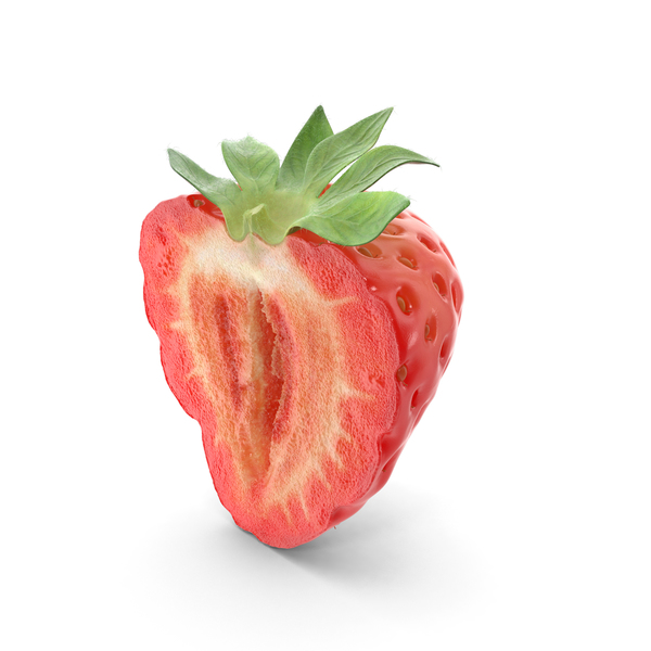 Strawberry Cross Section Object
