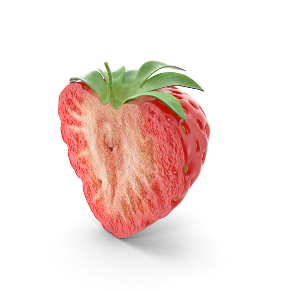 Strawberry Cross Section PNG & PSD Images