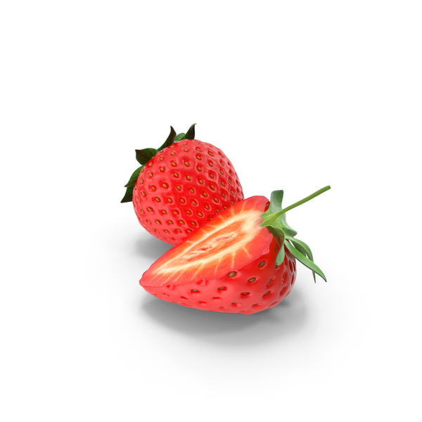 Strawberry Group of 2 PNG & PSD Images