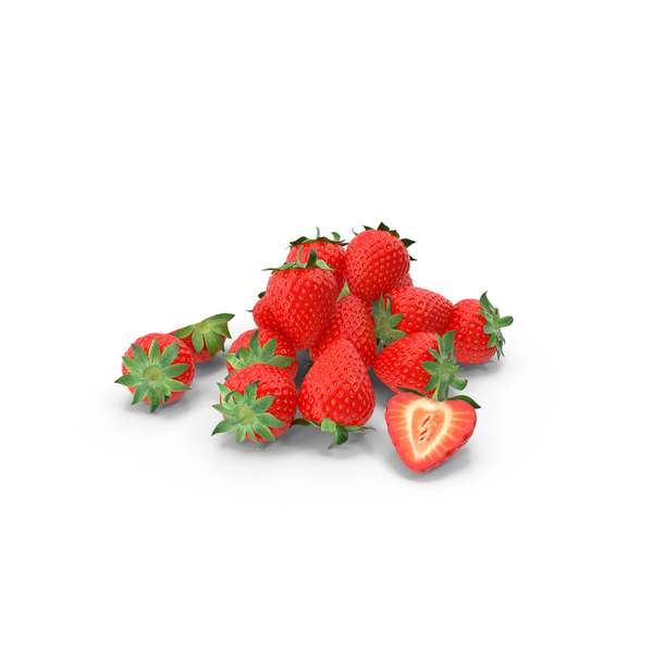 Strawberry Pile PNG & PSD Images